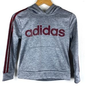 Adidas Boy's Gray Sweatshirt